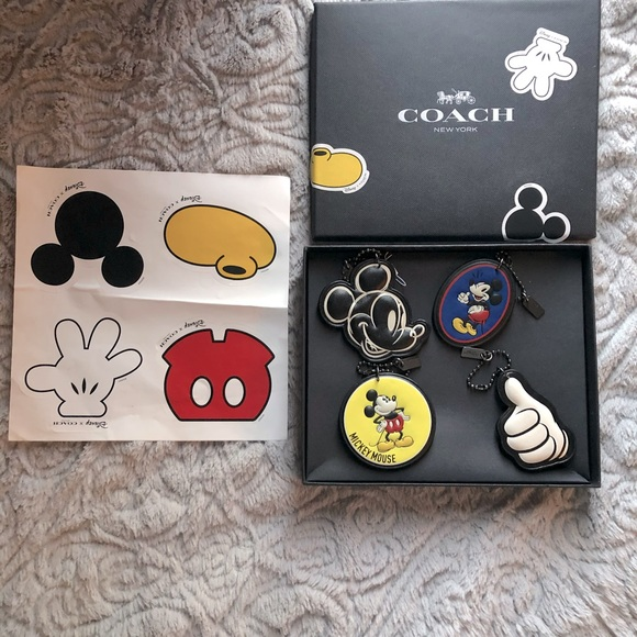 Authentic- Rare- Mickey Mouse Hang tag set